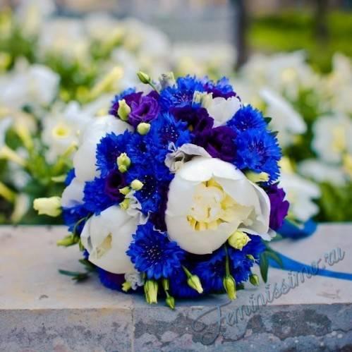 Свадебные букеты для невесты из пионов