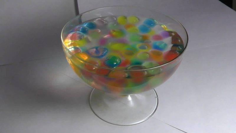 Гидрогель для цветов как использовать