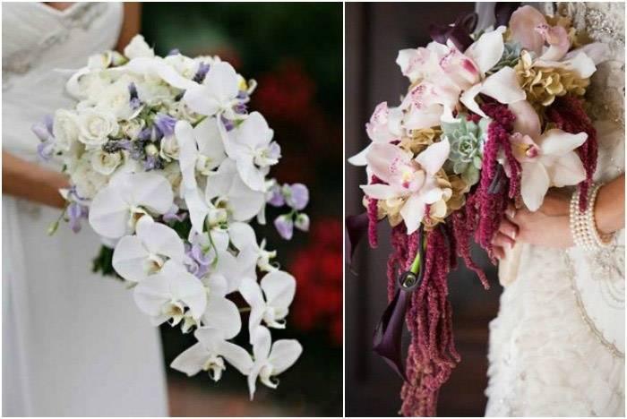 Букет невесты заказать из орхидей мастер класс, цветов