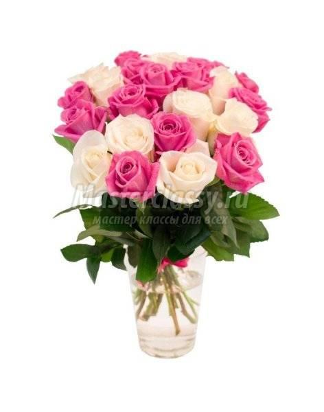 Как сохранить букет роз дольше
