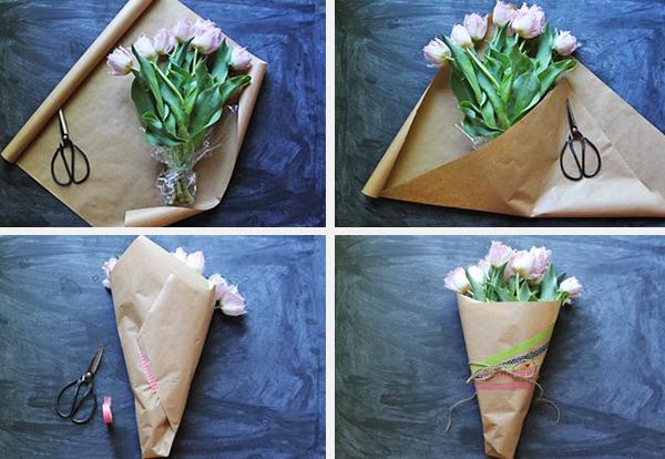 Тюльпаны в коробочке