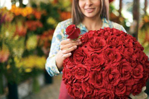 Количество роз