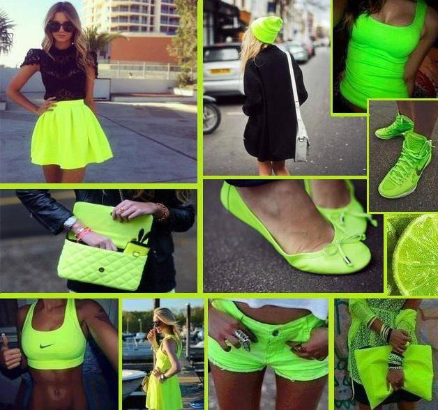 Ядовитый зеленый